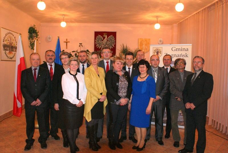 Rada Gminy Zagnańsk VII kadencji 2014-2018