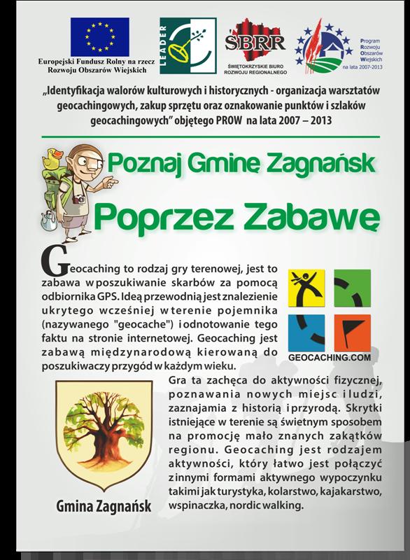 Poznaj Gminę Zagnańsk poprzez zabawę